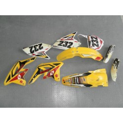 KIT PLASTICHE CARENE PLASTIC KIT SUZUKI RMZ 250 2004 2005 2006