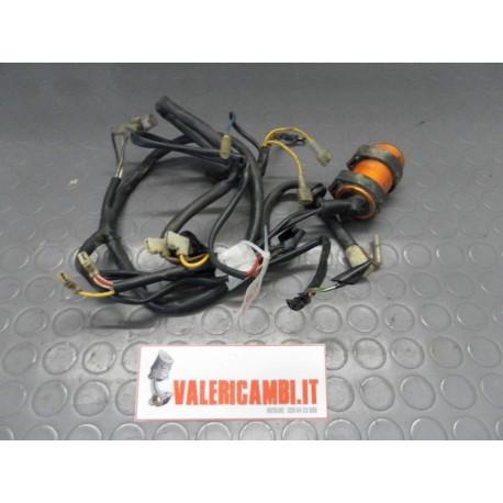 Schema Elettrico Ktm Exc : Impianto elettrico cavi cablaggio electrical cables ktm 125 mx 1984